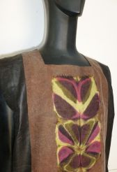 Panel dress; Ana Lisa Hedstrom