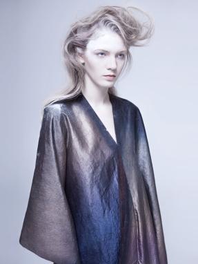 YU Wanning and textile;Kinor Jiang