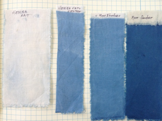 indigo test strips
